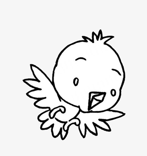 513x546 Frightened Birds, Birds, Animal, Stick Figure Png And Psd File