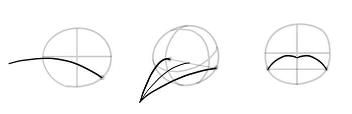 700x228 How To Draw Birds Step By Step Instructions