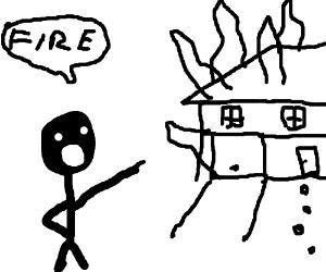 300x250 House On Fire
