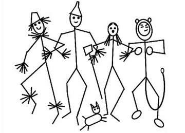 360x259 Stick Figure Art Guess The Famous Movie From The Stick Figure