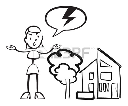 450x373 Stick Figure Woman House Insurance Case, Stickman Vector Drawing