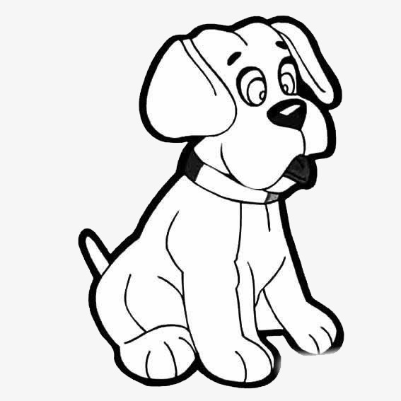 567x567 Puppy Want To Sleep, Cartoon, Hand Painted, Stick Figure Png Image