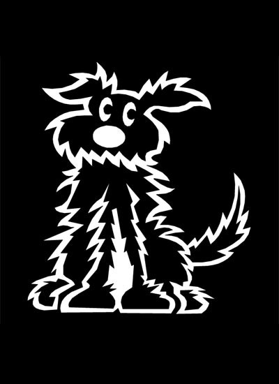 400x550 Dog Small Pd3 Family Stickers