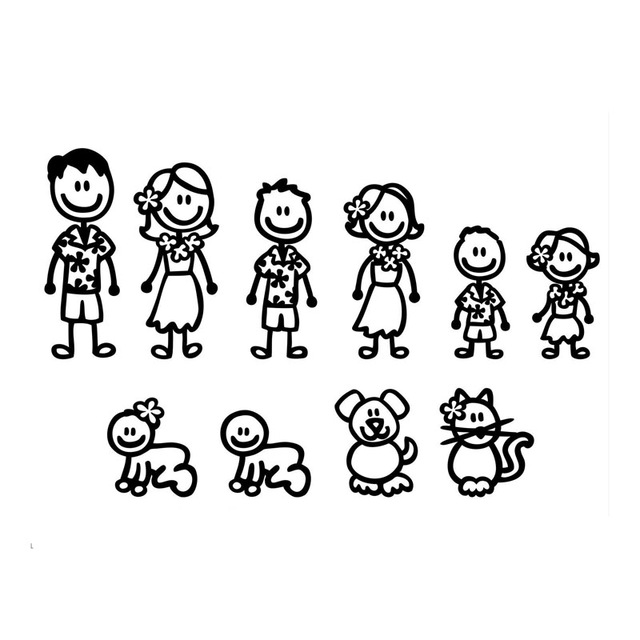 Stick Figure Family Drawing at GetDrawings.com   Free for ...