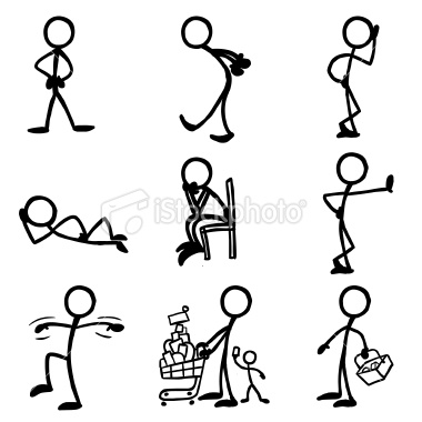 380x380 Stick Figure Family High Quality Decals Stick Figure Family