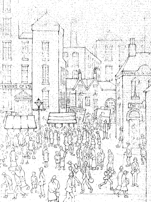 533x709 The Manchester Guardian And L.s. Lowry John Rylands Library