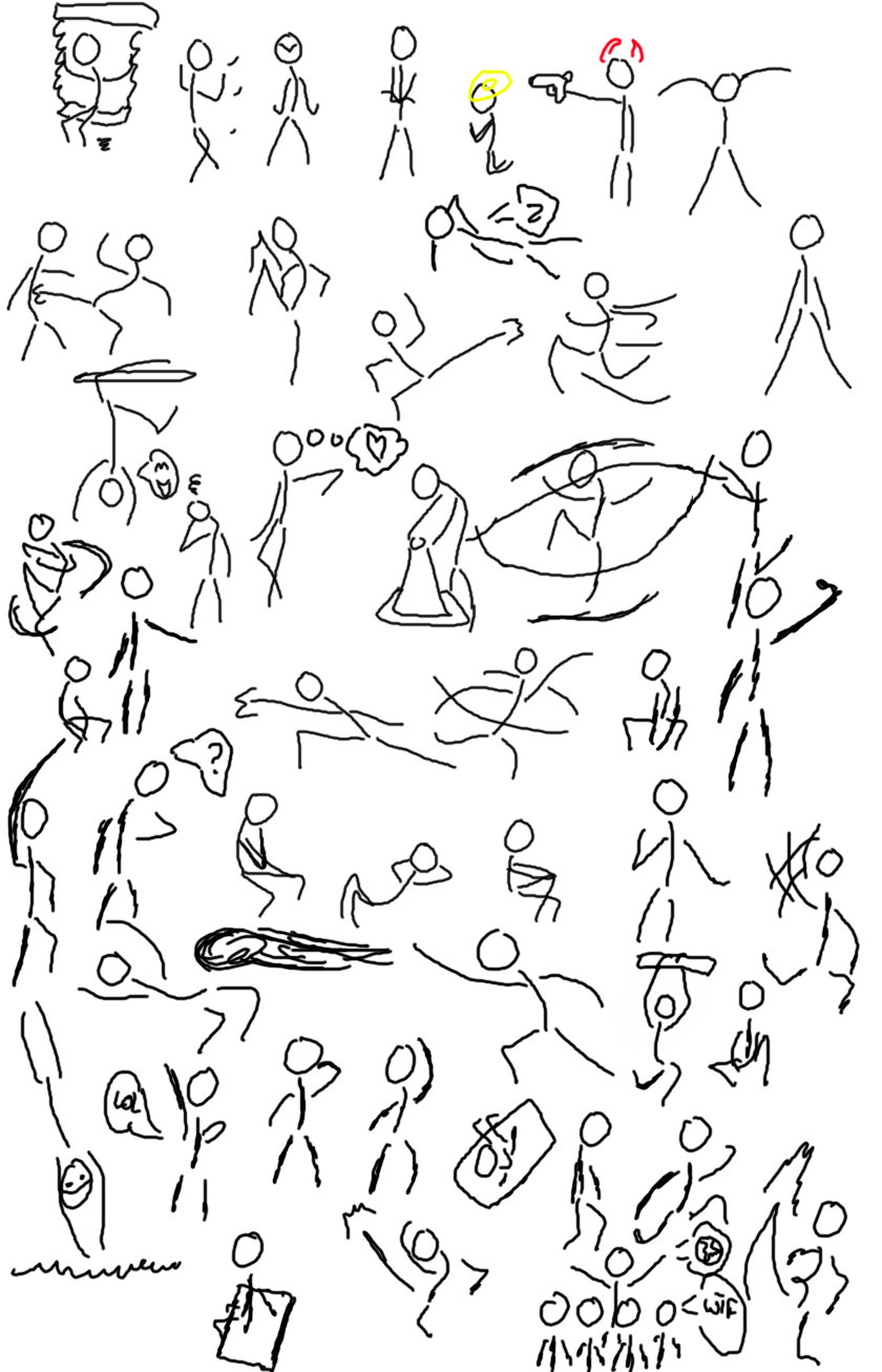 840x1306 Stick Figure Poses By Ccrystal14