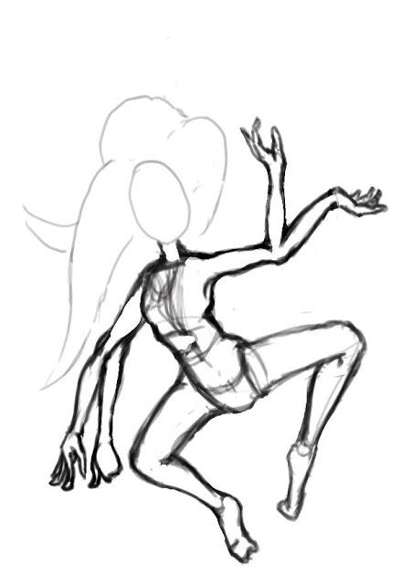 451x640 Creating Character Artwork In Gimp