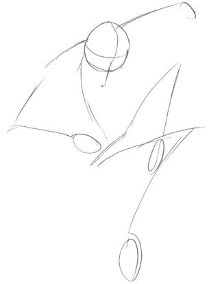 305x414 Drawing Anime Manga Action Poses Tutorial Part 2