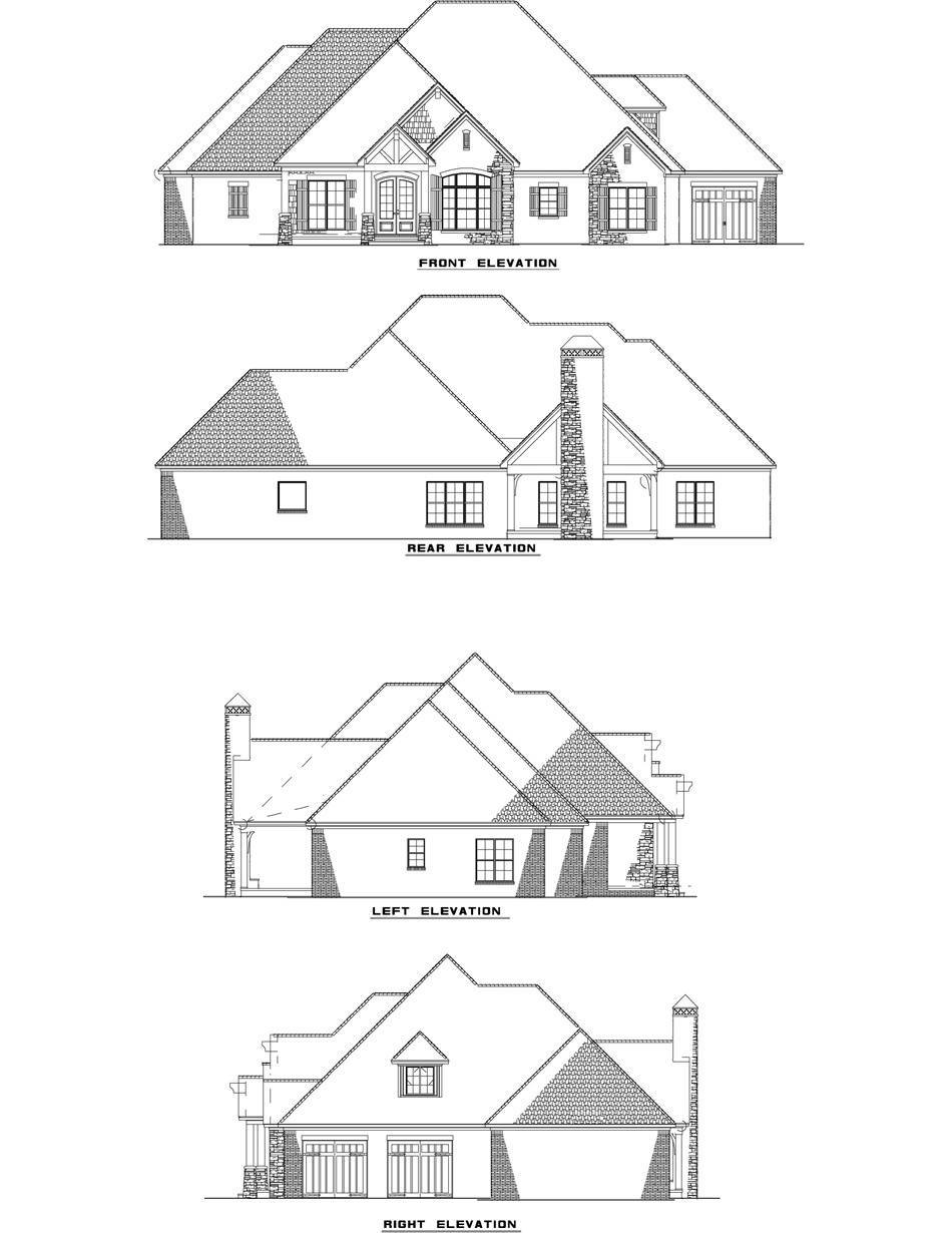 950x1230 Rustic Ridge Collection House Plan 1428 Timberland Cove