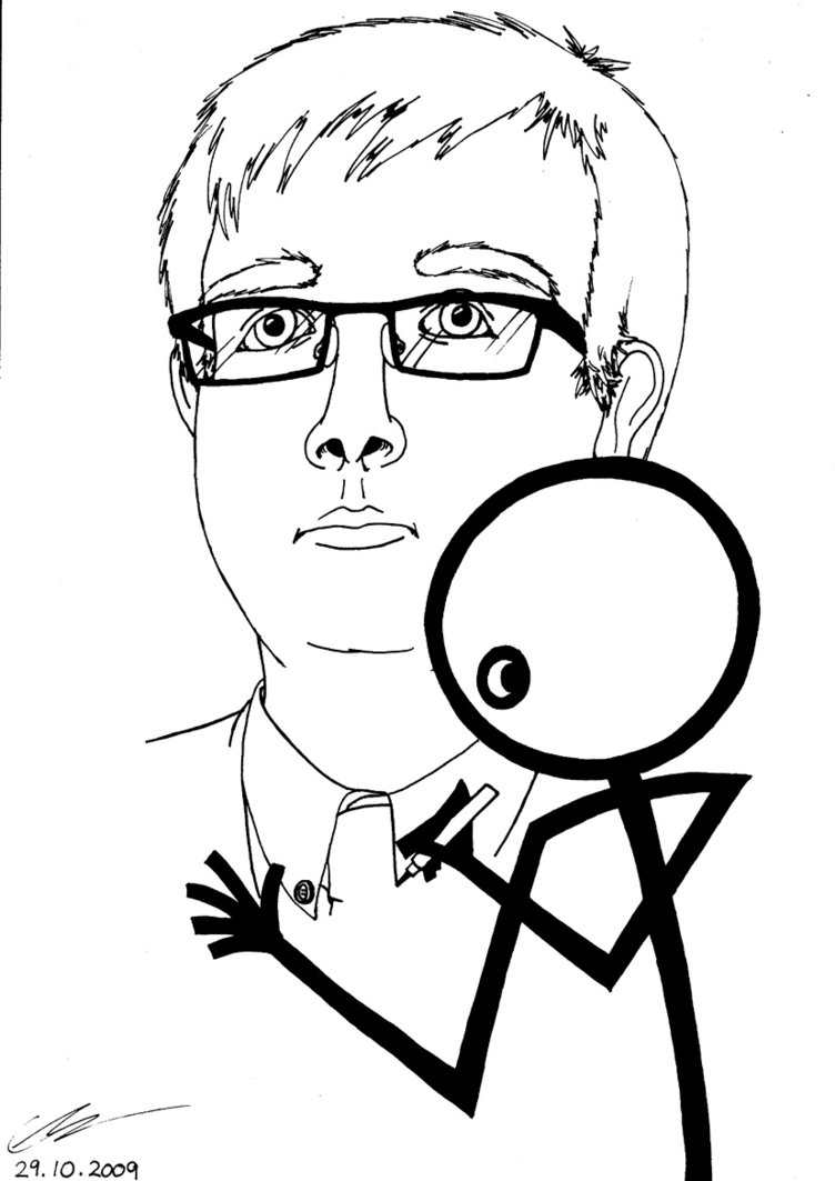 752x1063 A Stickman Drawing By Euan The Echidhog