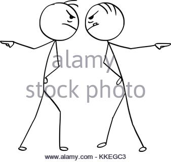 338x320 Cartoon Vector Stickman Two Man Playing A Game Of Chess One