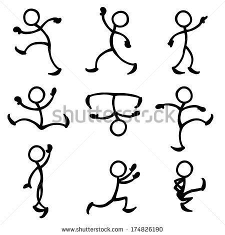 450x470 Stick People In Action, Trying To Get Ideas For Dancing Stick