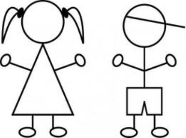 385x285 Stick Figures Clipart
