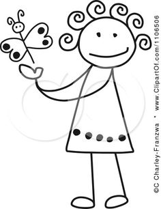 236x306 Red Hair Girl Clipart Stick Figure