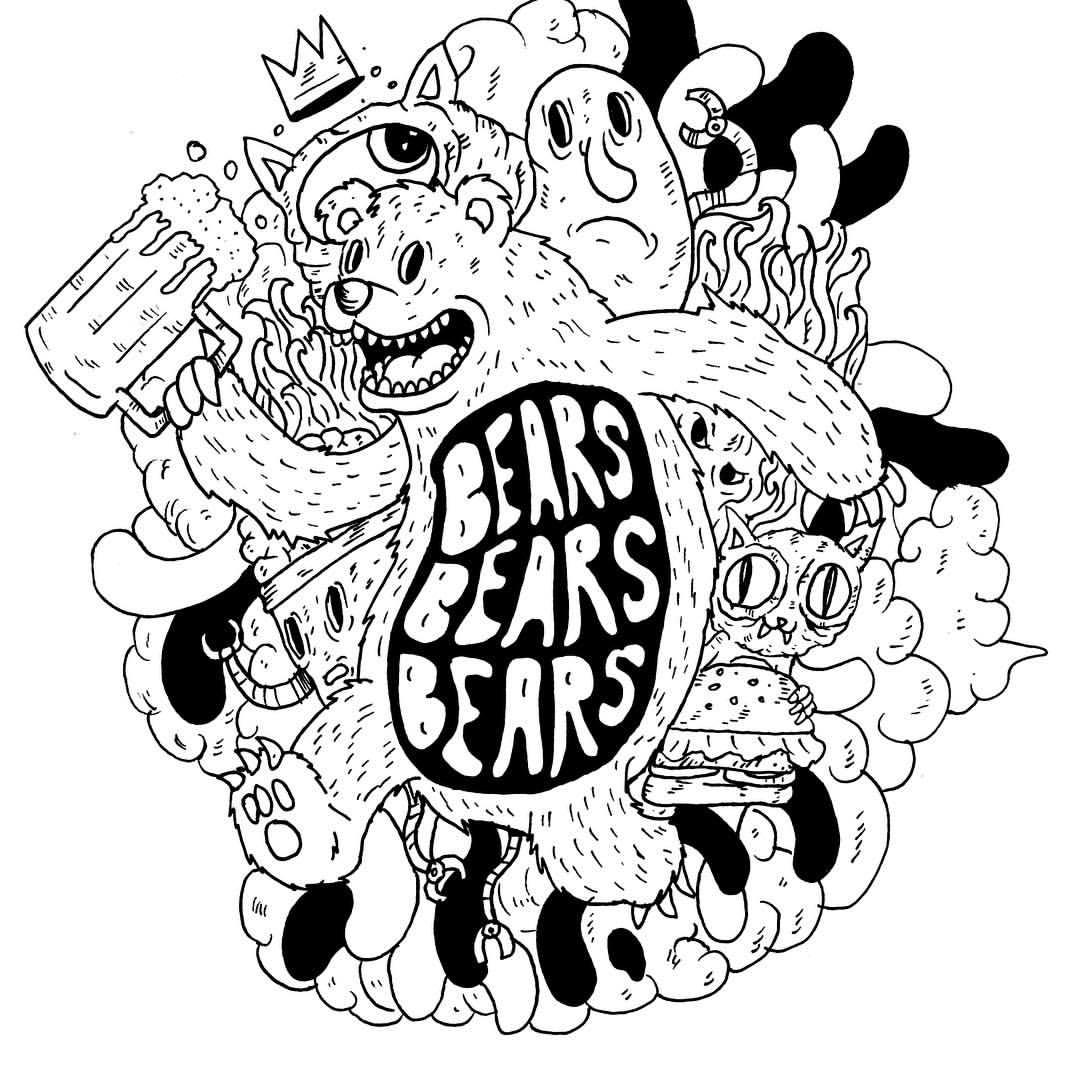 1080x1080 Client Bears Bears Bears (Band), So Theysked Me To Do