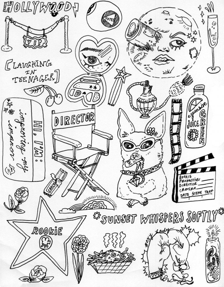 768x986 Rookie Printable Hollywood Stickers Rookie Faves