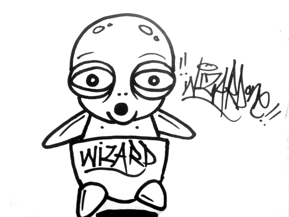 960x720 Graffiti Stickers By Wizard1labels