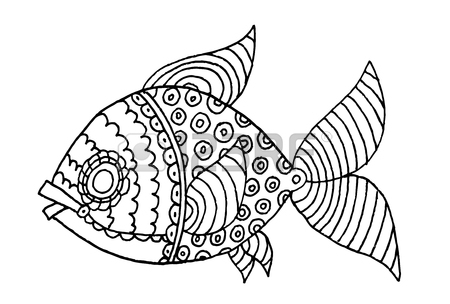 Stickleback Drawing