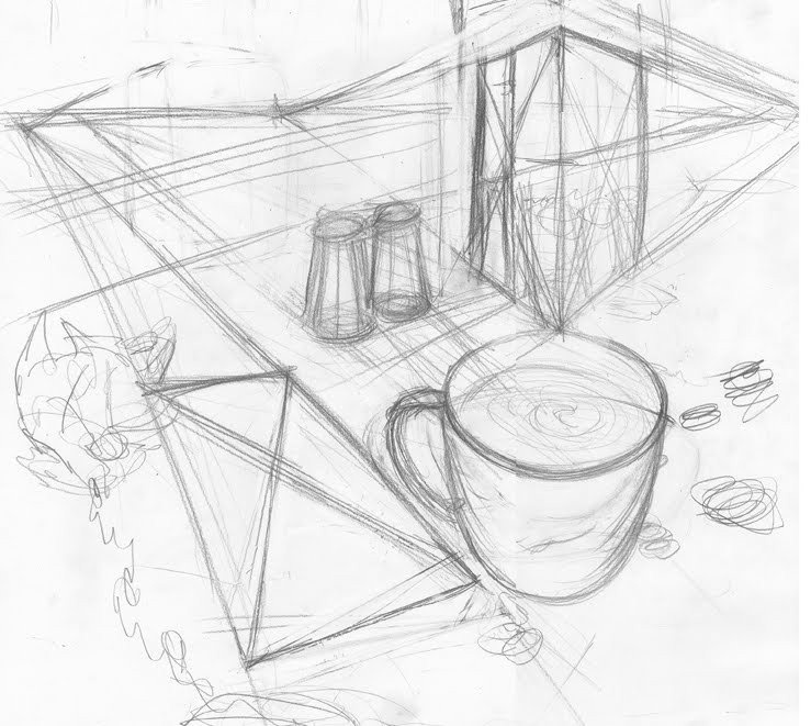 739x661 Perspective Drawing