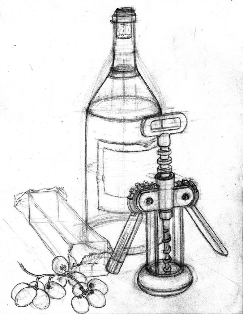 786x1017 Still Life Object Drawing By Brandoharristo