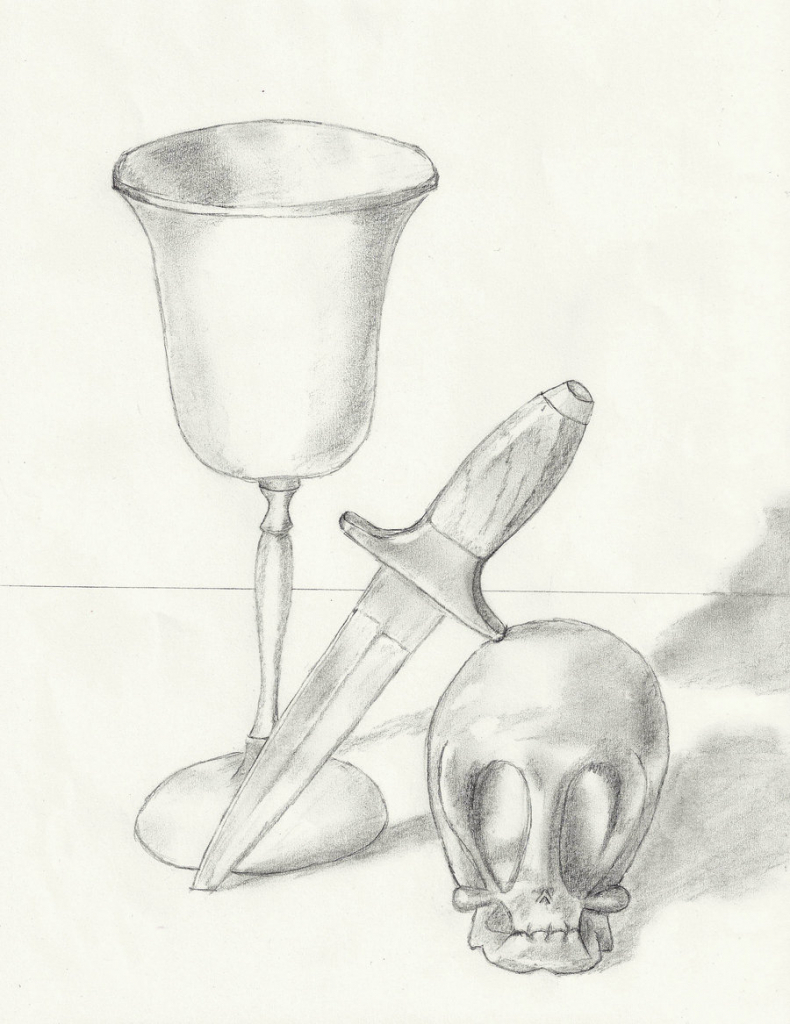 790x1024 Still Life Drawing Easy Easy Still Life To Draw
