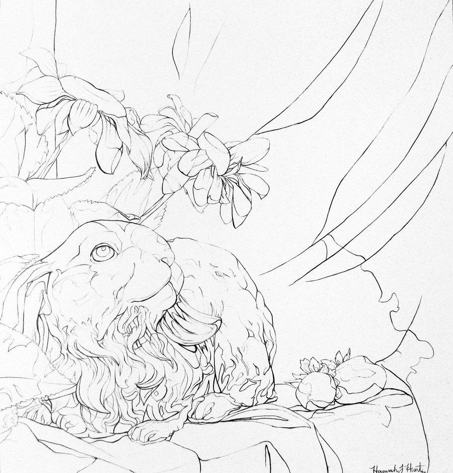 900x939 Artist Emma Cluver (8th Grade), Assignment Still Life, Line