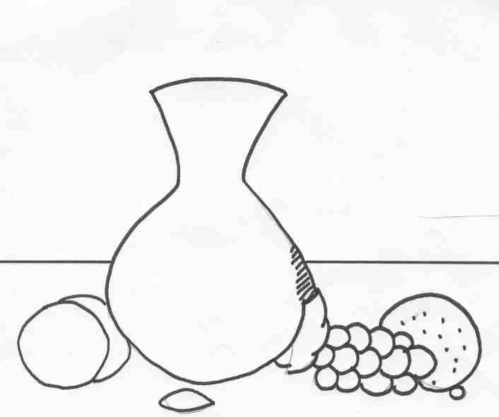 Still Life Easy Drawing At Getdrawings Com Free For Personal Use