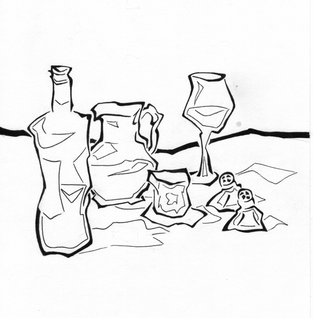 1000x1016 Prompt Still Life With Wine Inksplot Studios