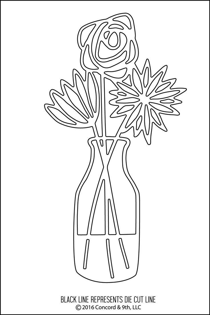 736x1102 Vase Flower Vase Sketch Wonderful How To Draw A Vase Drawn Still