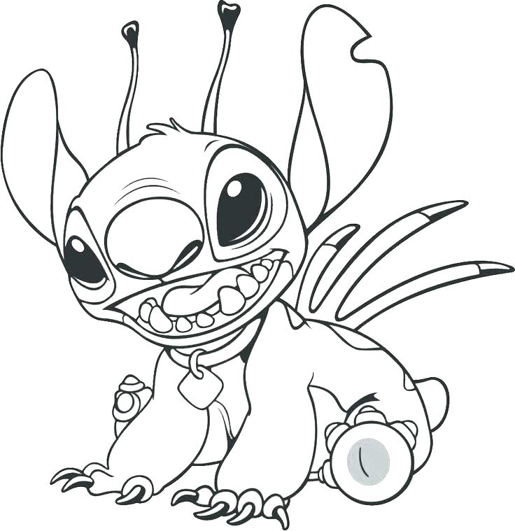 Stitch And Angel Drawing at GetDrawings.com | Free for personal use ...