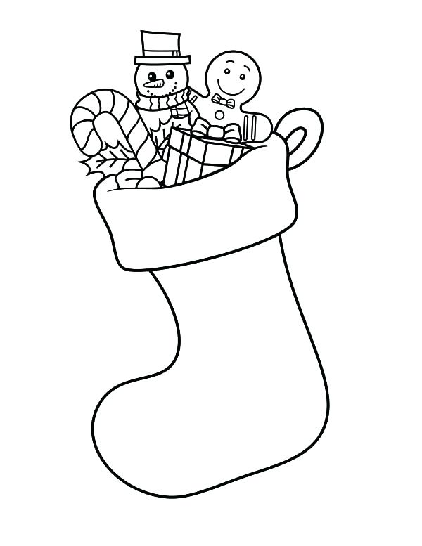 Stockings Drawing At Getdrawings Com Free For Personal Use