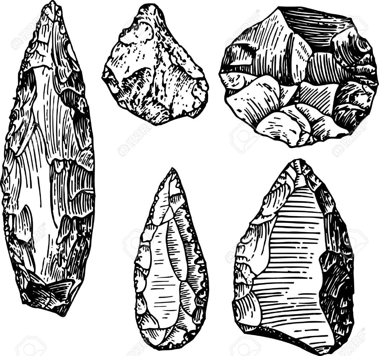 1300x1224 Stone Age Royalty Free Cliparts, Vectors, And Stock Illustration