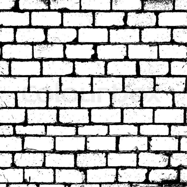 728x728 Brick Wall Drawing Brick Wall Texture