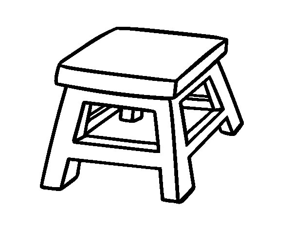 Stool Drawing At Getdrawings Com Free For Personal Use