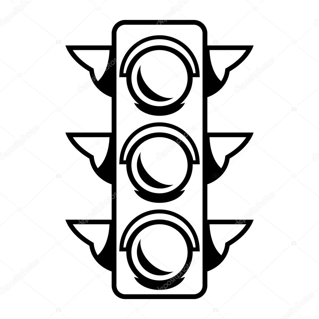 1024x1024 Traffic Light Vector Icon Stock Vector Briangoff