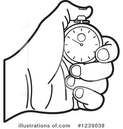 400x420 Stopwatch Clipart