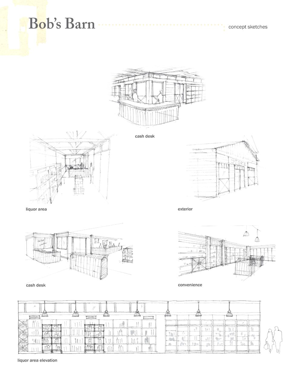 972x1227 Shop Drawing Features Architecture Student 3d Sketch Drawing Idea