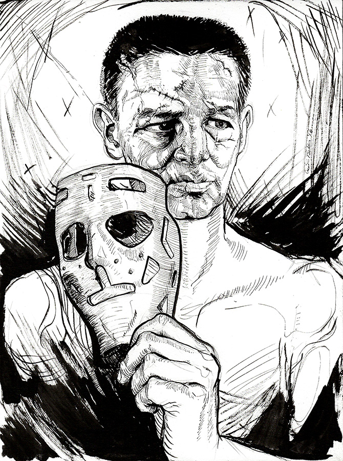 670x900 Terry Sawchuk Ink Drawing Asunder Online Store Powered By Storenvy