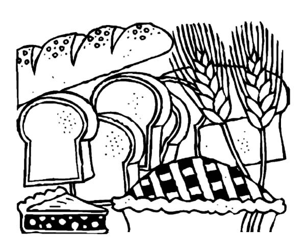 600x492 Bread Store Coloring Pages Best Place To Color