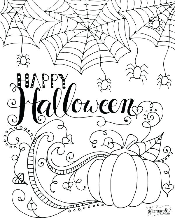 600x748 Kids Halloween Coloring Pages Download Color Pages Kids Home
