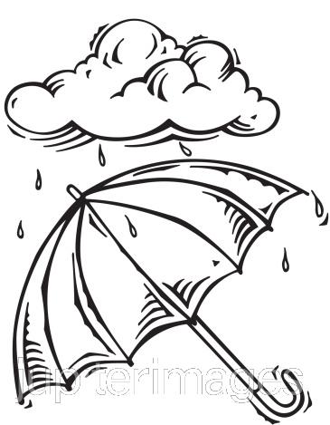 365x469 Rain Cloud Clipart