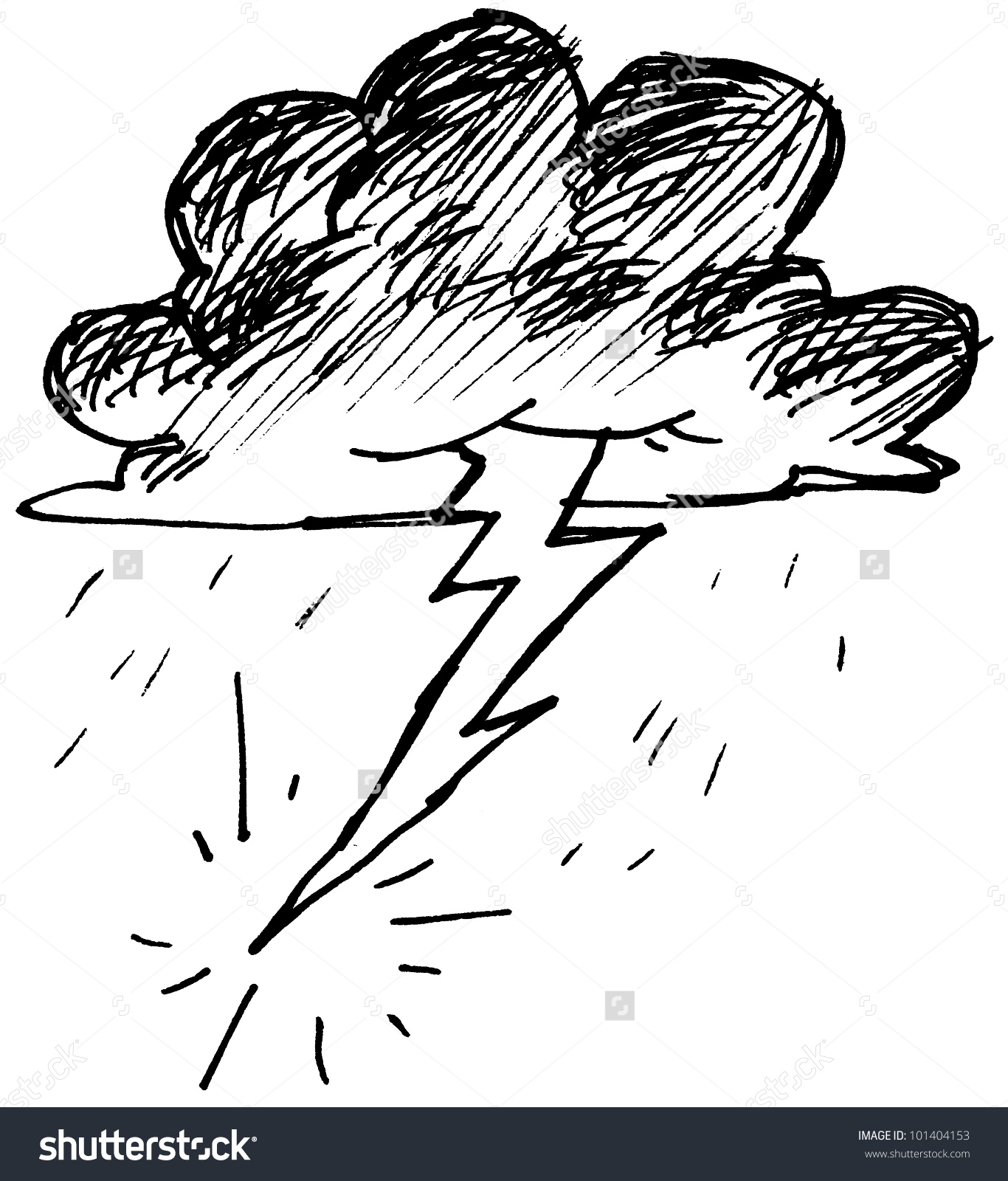 1366x1600 How To Draw Lightning Bolts Step 5. How To Draw A Cartoon