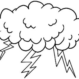 268x268 Storm Coloring Pages Coloring Page For Kids
