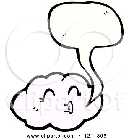 450x470 Cartoon Of A Storm Cloud Speaking