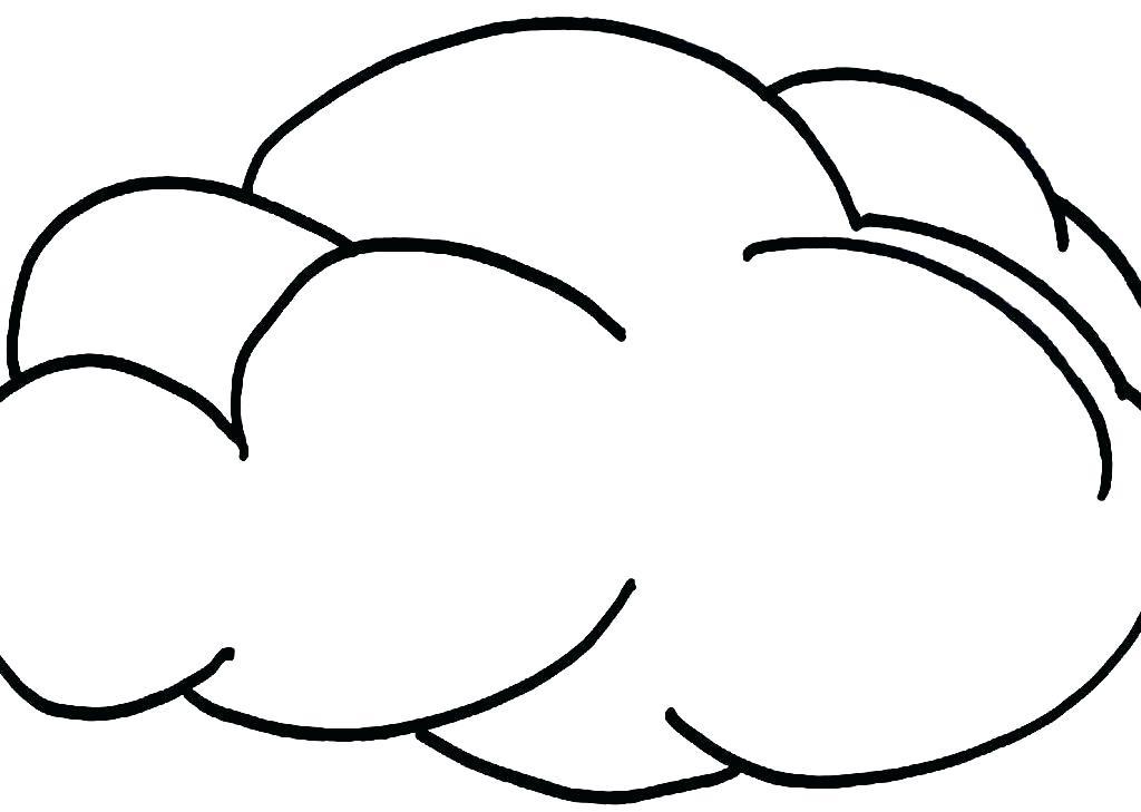 1024x729 Cloud Coloring Page Cloud Coloring Pages Storm Cloud Coloring
