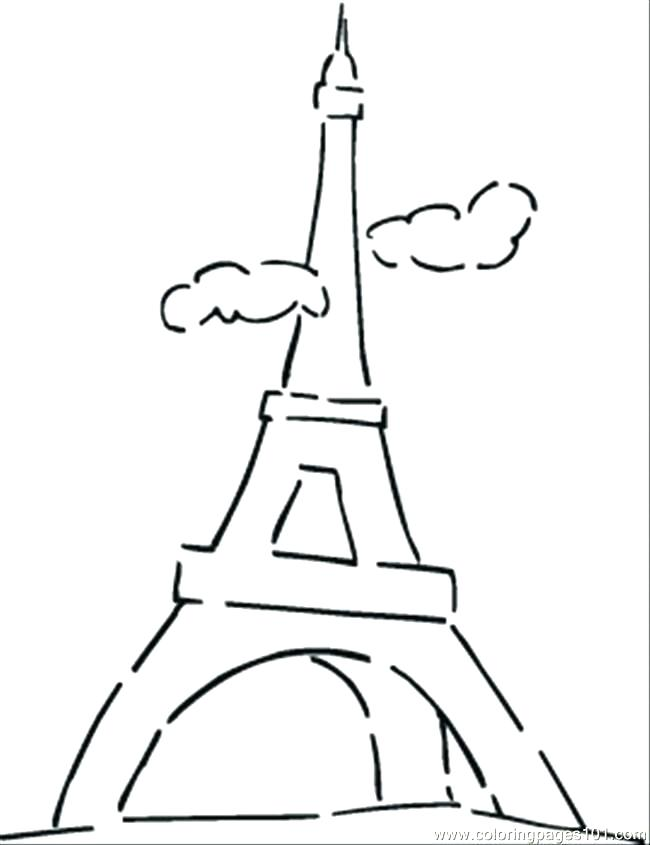 650x845 Cloud Coloring Page