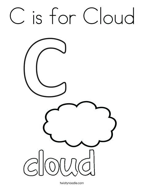 468x605 Cloud Coloring Pages Cortefocal.site