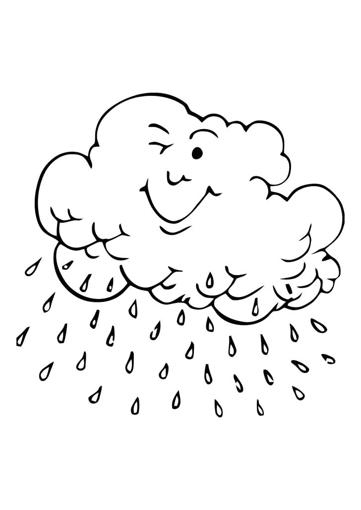 728x1027 Cloud Coloring Pages Plus Clouds Printabl On Drawn Lightning Storm