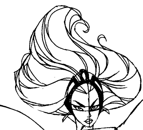 600x547 How To Draw Storm From Marvel's Xmen Comics In Easy Steps Tutorial